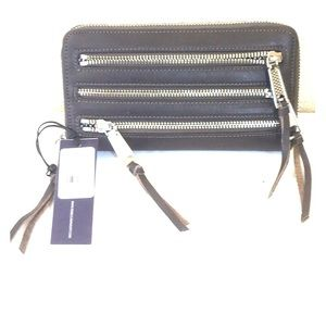 Rebecca Minkoff Three Zip Wallet - new with tags